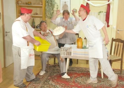 Komödienspaß im Backtheater Walsrode - mit FloraFarm Ginseng