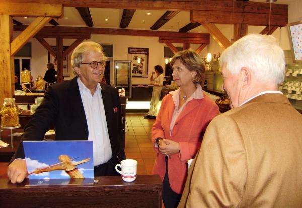 Starpianist Justus Frantz zu Gast bei FloraFarm Ginseng