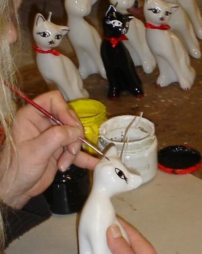 Kerzenherstellung in der Zierkerzenmanufaktur Heidewachs erleben mit FloraFarm Ginseng.